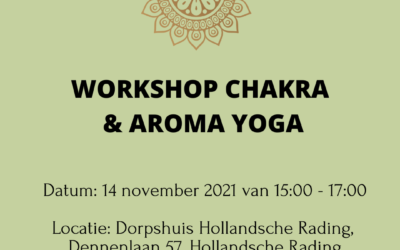 Yoga Chakra en Aromatherapie workshop