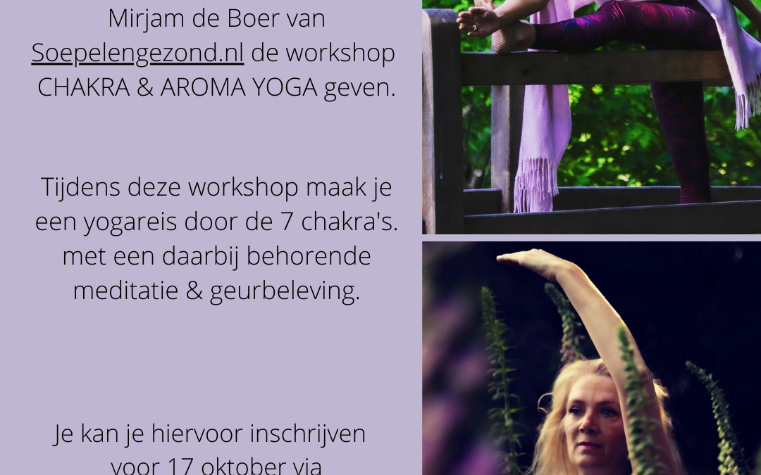 Workshop Yoga & Aromatherapie